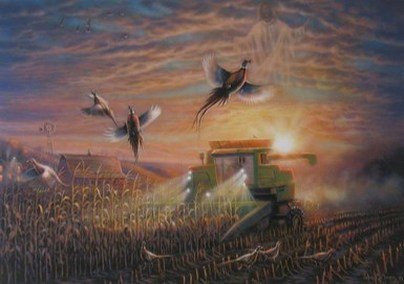 The Blessing of the Harvest II by John C Green