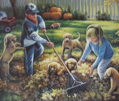 Backyard Helpers by John C Green