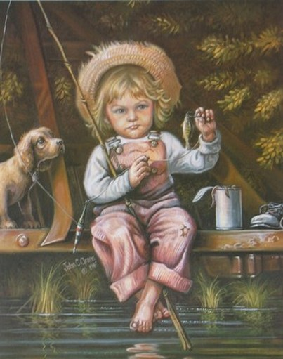 The Little Fishergirl by John C Green